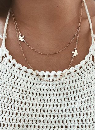 Animal No Stone Without Pendant Necklaces