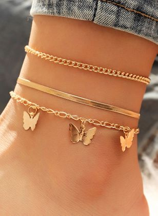 Casual Animal No Stone Link Bracelets (147045376)