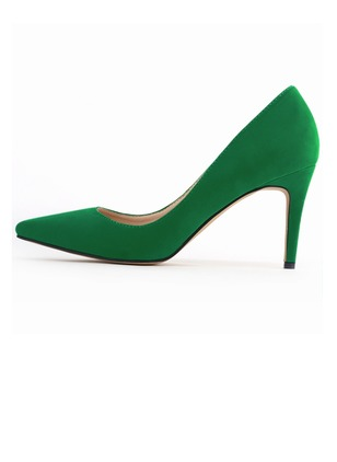 Women's Pumps Closed Toe Heels Stiletto Heel Suede Shoes (1009213)