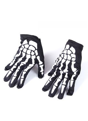 Women's Halloween Polyester Gloves & Mittens Windproof Fit Gloves (111608122)