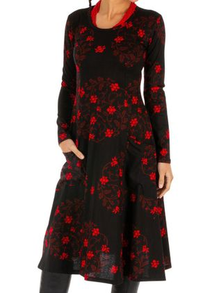 Casual Floral Pencil Round Neckline Sheath Dress (106704092)
