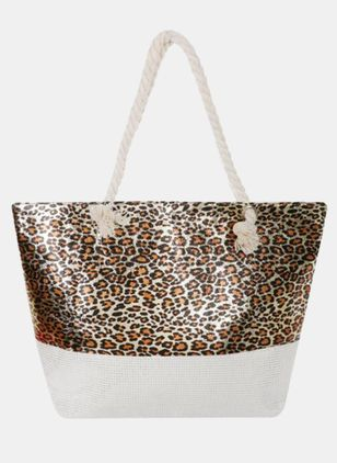 Tote Color Block Double Handle Bags (4127600)