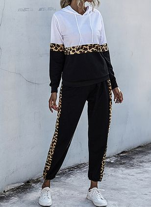 Hooded Leopard Loungewear (106942938)