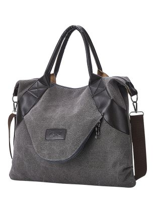 Tote Fashion Zipper Double Handle Bags (147049648)