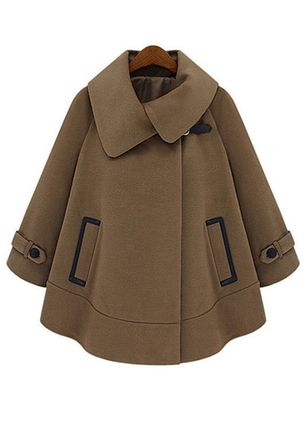 Long Sleeve Collar Coats