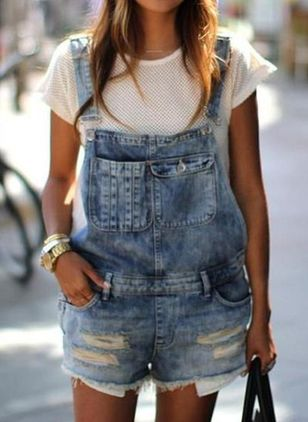 Pantalons en denim (100448366)