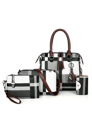 Bag Sets Fashion Zipper Double Handle Bags (147159382)