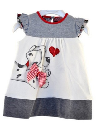 Girls' Animal Daily Sleeveless Dresses