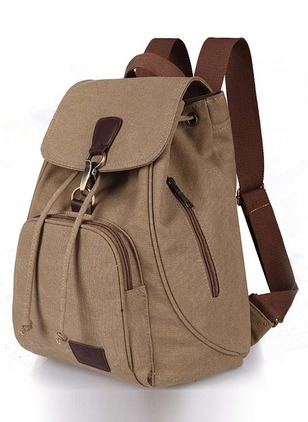 Backpacks Fashion Canvas Zipper Convertible Bags