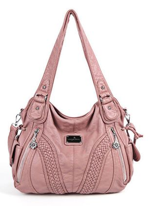 Tote Fashion Zipper Double Handle Bags (1280575)
