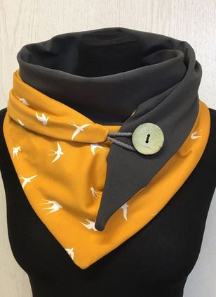 Casual Color Block Scarves (146853975)