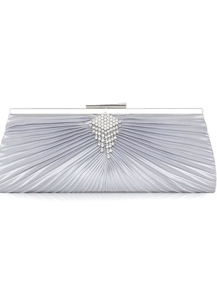 Clutches Fashion Polyester Rhinestone Chain Bags
