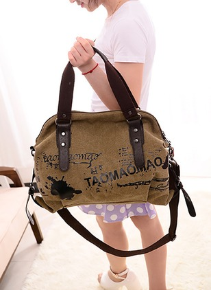Totes Fashion Canvas Double Handle Bags