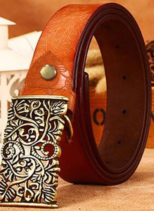 Metal Color Block Belts (1177163)
