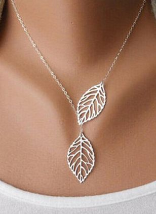 Casual No Stone Pendant Necklaces (1524581)