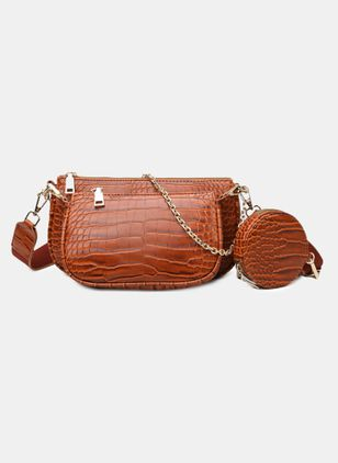Bag Sets Vintage Zipper Chain Bags (4049769)