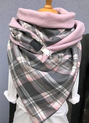 Casual Check Scarves (1481806)