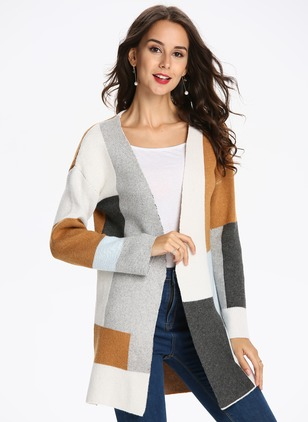 Polyester Long Sleeve Collarless Coats