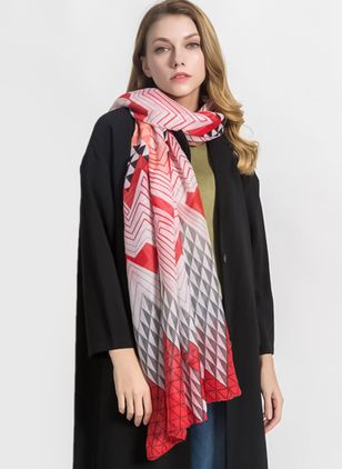 Casual Geometric Scarves