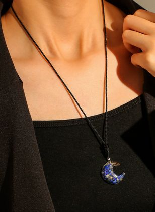 Casual Ball Crystal Pendant Necklaces (147036998)
