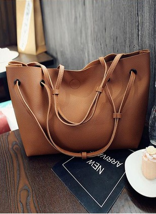 Tote Fashion Double Handle Bags
