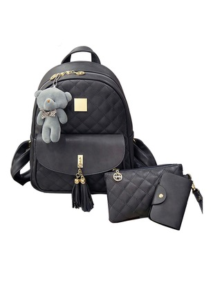 Backpacks Fashion PU Tassel Convertible Bags