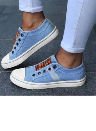Denim Shoes With Lace-up (100448304)