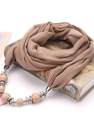 Casual Solid Scarves (111853062)