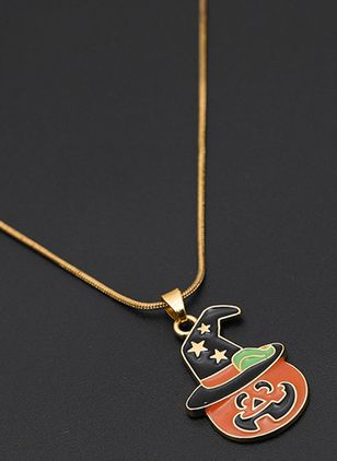 Halloween Star No Stone Pendant Necklaces (108858101)