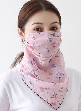 Casual Floral Scarves (111852894)