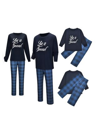 Family Look Alphabet Christmas Long Sleeve Family Outfits (120294934)