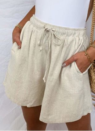 Women's Straight Pants Shorts (4458657)