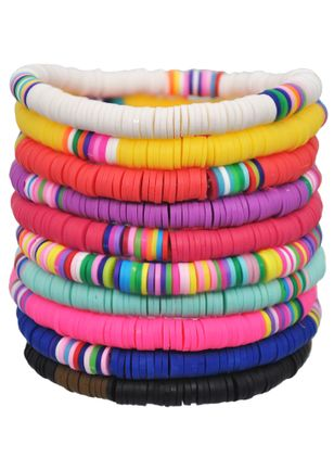 Casual Round No Stone Bangle Bracelets (1424287)
