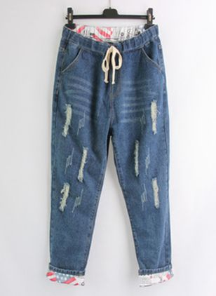 Women's Loose Jeans Pants (4127703)