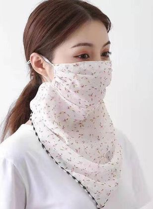Casual Floral Scarves (1531812)