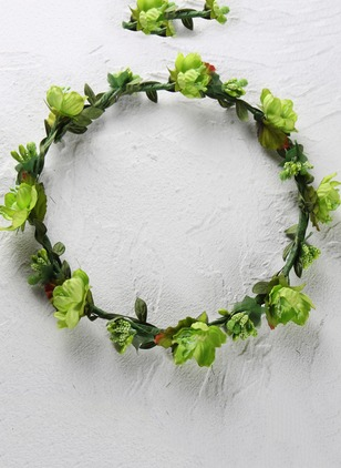 Floral Round Hair Hoop Single