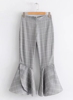 Loose Polyester Trousers Pants & Leggings
