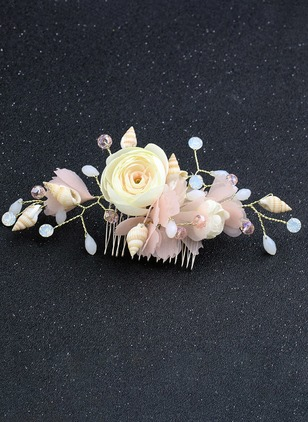 Floral Hair Clips Single