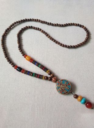 Boho Pendant Necklaces (1521269)