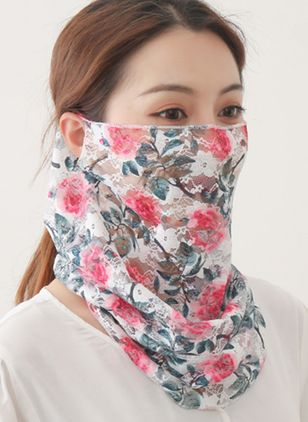 Casual Floral Scarves (4456815)