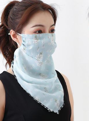 Casual Floral Scarves (1518800)