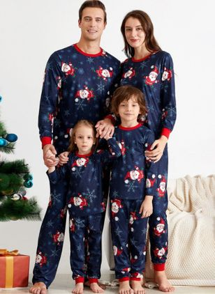 Family Look Character Christmas Long Sleeve Family Outfits (119993055)