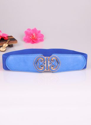 Elegant Metal Geometric Belts