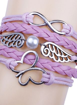 Casual Animal No Stone Link Bracelets (146738252)