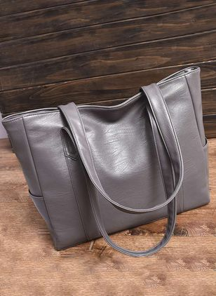 Tote Fashion Zipper Double Handle Bags (147089841)
