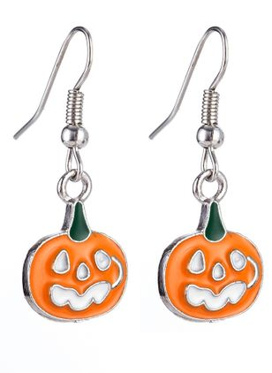 Halloween Animal No Stone Dangle Earrings (108858023)