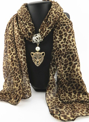 Casual Leopard Scarves