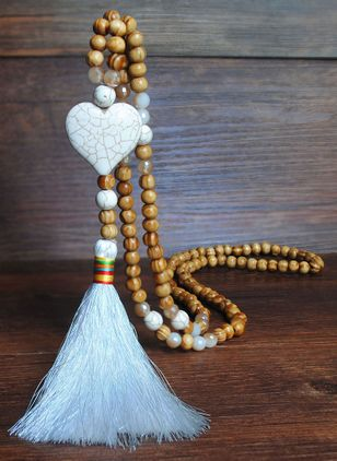 Boho Heart Pendant Necklaces (1426259)