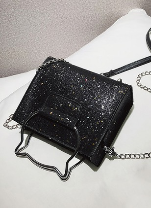 Shoulder Totes PU Chain Bags