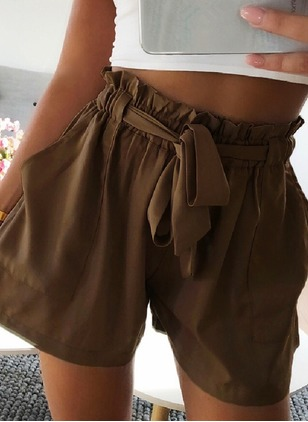 Loose Polyester Shorts Pants & Leggings